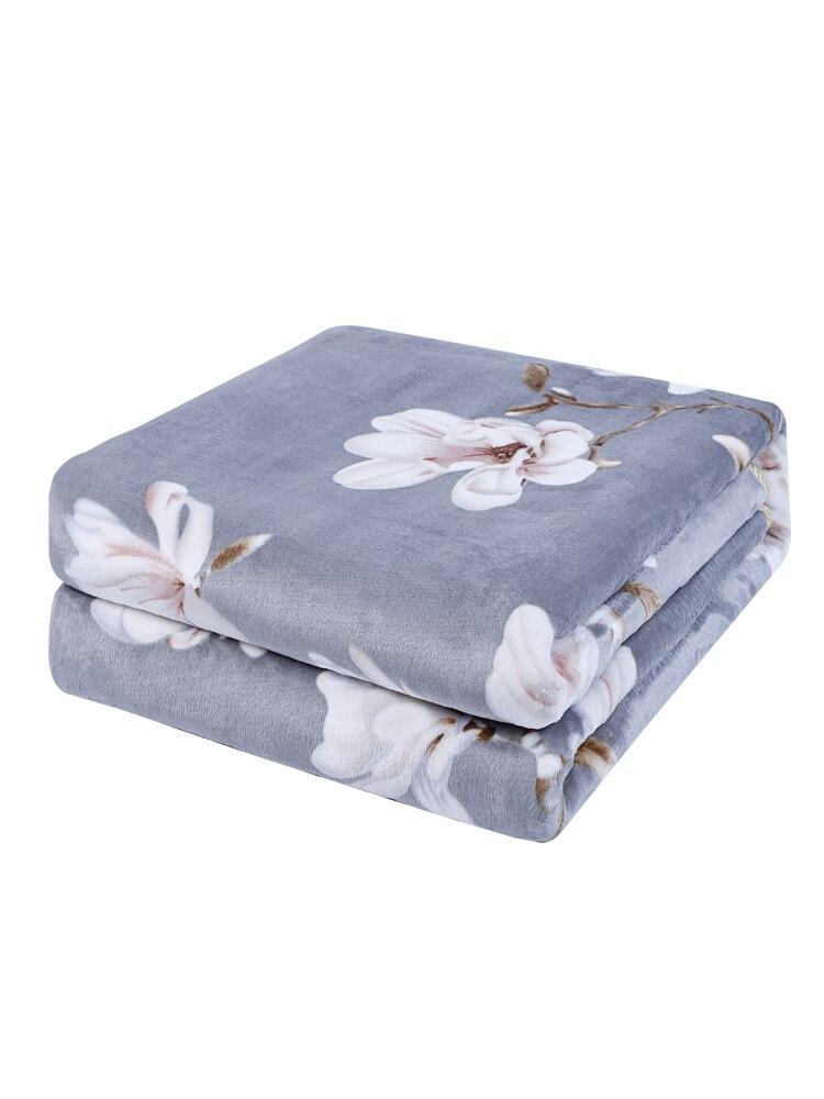 Heat Warm Blanket Electric Flanel Full Size Infrared Sauna Electric Blanket Heated Electrische Deken Body Warmer Bed EA6DRT