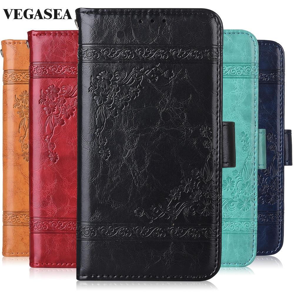 Para On Honor 6A DLI-TL20 DLI-AL10, funda de libro con correa, funda de billetera con tapa Para Huawei Honor 6A DLI-TL20 DLI-AL10