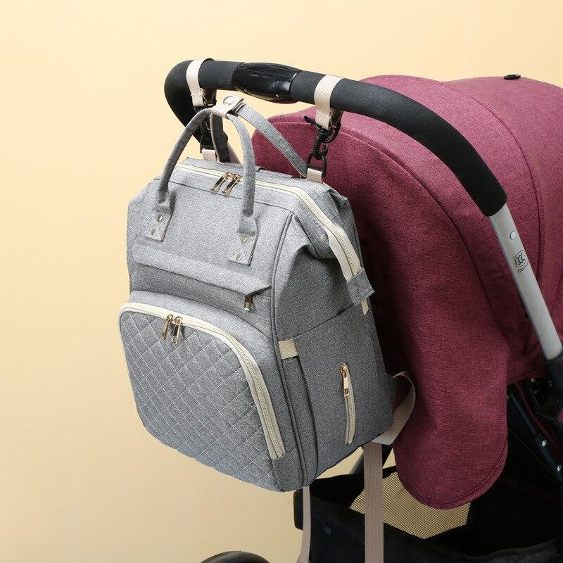 Складной Многофункциональный рюкзак для мам сумка большой Ёмкость сумка для подгузников; Рюкзак для путешествий, матери и ребенка сумка по...
