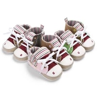 0 18 months baby lovely snowman multi color canvas splicing shoes soft soles sneakers baby toddler color matching casual shoes