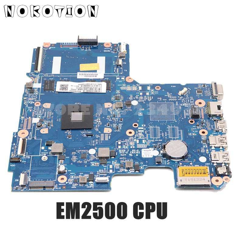 NOKOTION اللوحة الأم للكمبيوتر المحمول HP بافيليون 14-AF EM2500 وحدة المعالجة المركزية DDR3 814507-001 814507-501 6050A2731301-MB-A01