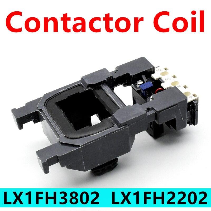 LX1FH3802 LX1FH2202 AC قواطع التحكم الجهد لفائف LC1D300 LC1F330 NC2-330 CJX4-330F قواطع لفائف AC380V AC220V GSC2-330F