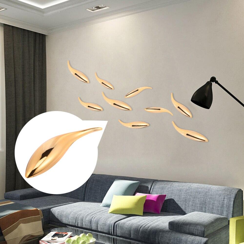 1 unidad de accesorios de peces abstractos, Arte Cultural DIY, adhesivos de pared portátil, accesorios de fiesta, adhesivos de pared de plástico para pared de vidrio Bac