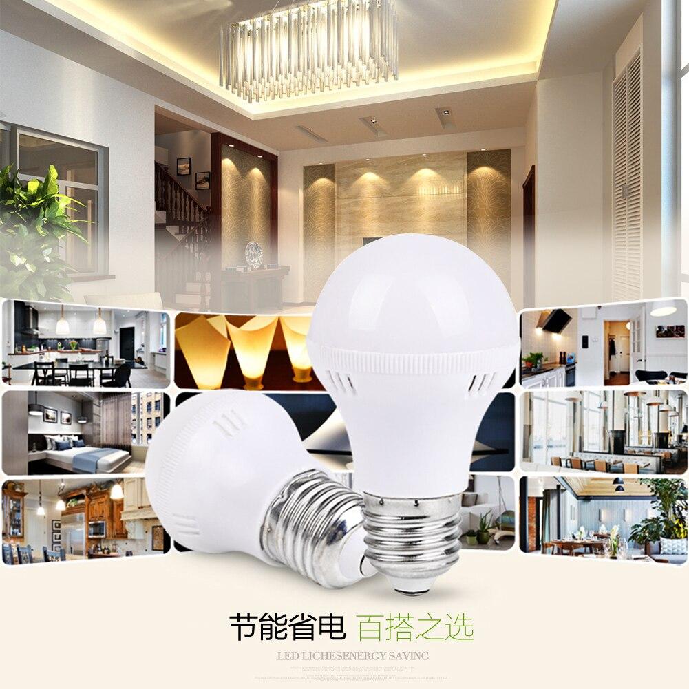 E27 220V Cool/Warm de alta eficiencia LED Bombilla de luz base de foco Bombilla lámparas de mesa de potencia luz menos cansancio 3/7/9/12W
