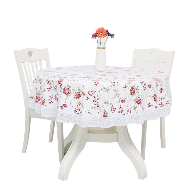 Nuevo mantel redondo mantel de mesa redonda para acontecimiento boda fiesta mantel Rectangular restaurante cubierta de mesa para banquete