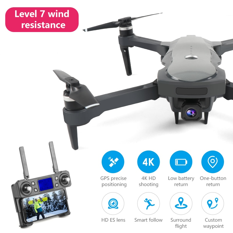 2021 New K20 drone 4k profesional brushless motor HD camera gps rc airplane long life 5G wifi fpv quadcopter toy helicopter