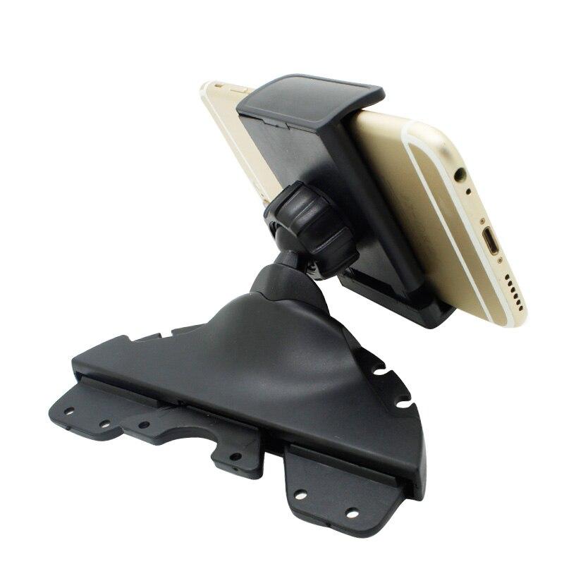 Universal Car Mount Holder Stand Support Car Phone Holder CD Player Slot Cradle for Smartphone Mobil