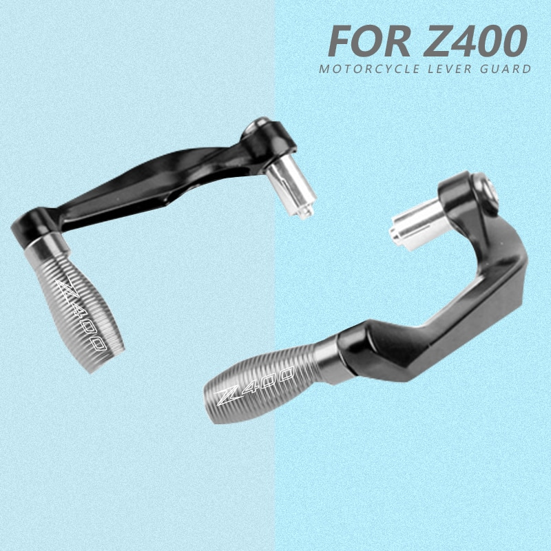 motorcycle 7 8 22mm lever guard handlebar grips guard brake clutch levers protector moto accessories for honda cb400 1992 1998 For Kawasaki Z400 2020 2021 Motorcycle Universal 7/8 22mm Handlebar Grips Guard Brake Clutch Levers Handguard Protector