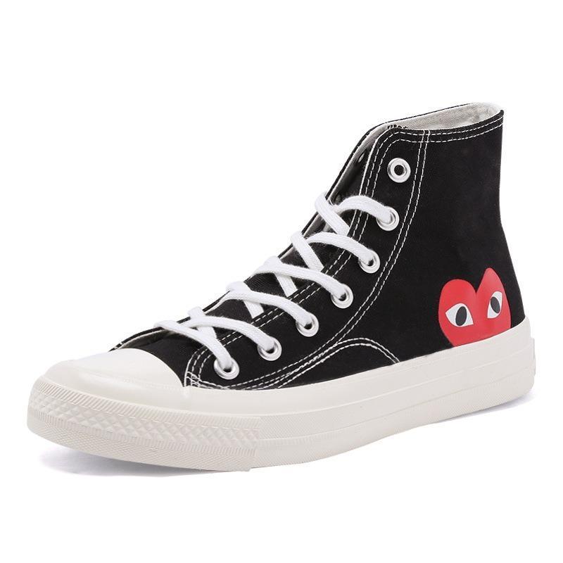 Zapatos de Skateboarding para mujer, calzado de primavera, negro, modernos con estrellas,...