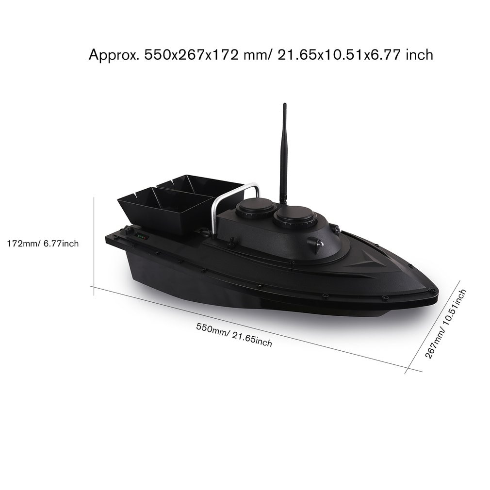 D11 Smart RC Bait Boat Toys Wireless Dual Motor 500m Fish Finder  Remote Control Fishing Boats Speedboat Fishing Tool enlarge