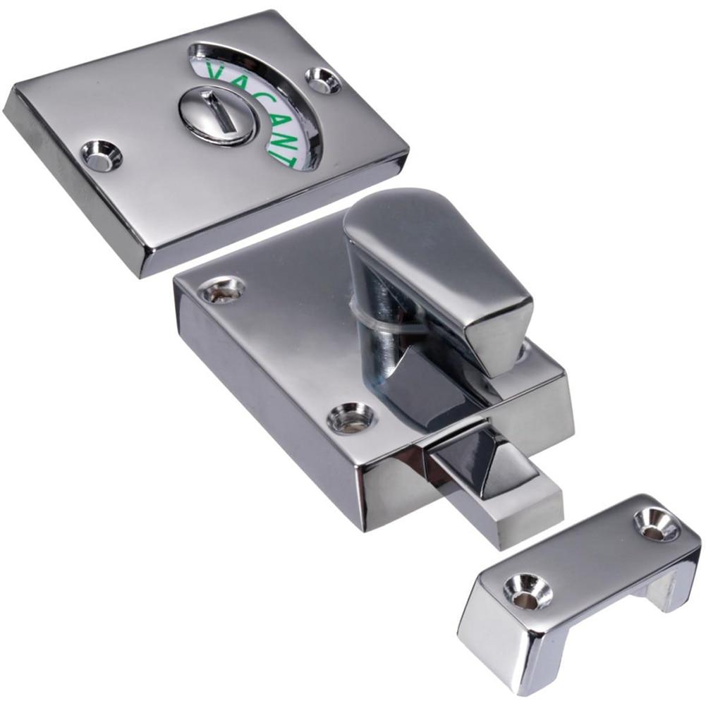WC con privacidad cerrojo indicador puerta vacantes pestillo Baño