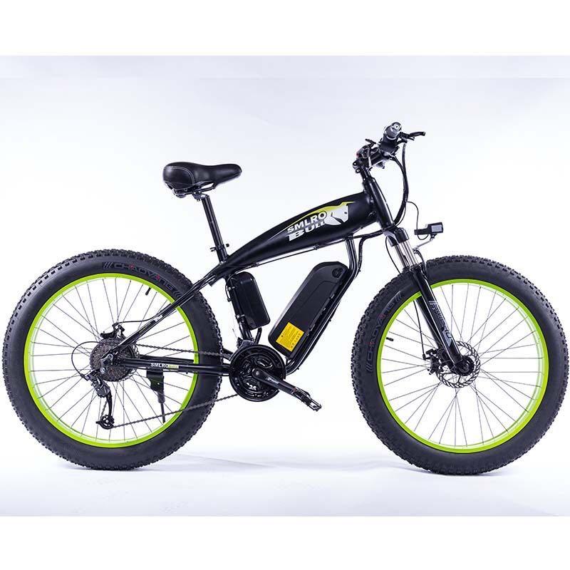 Electric bike 1000W4.0 fat tire electric bike beach cruiser bike Booster bicycle 48v 15AH lithium battery ebike
