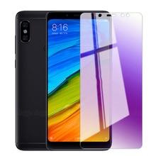 Película protectora de Pantalla UVR para Xiaomi Redmi 5A 4A 4X, cristal templado antirayos azul Redmi Note 3 5 Pro 5A Prime 4 4X 2