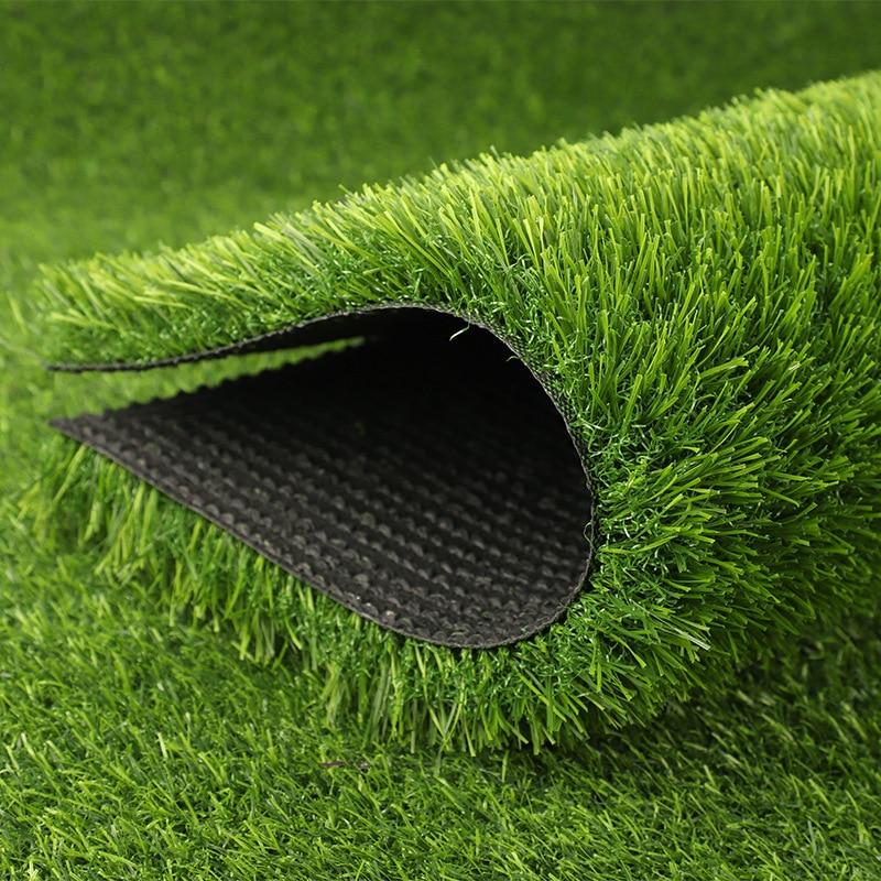 Flone-gazon artificiel décoration   Faux tapis de pelouse, fausse herbe verte Simulation de jardin denfants, gazon dextérieur pour clôture de mariage
