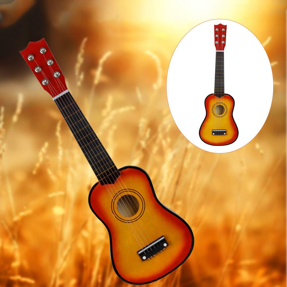 21 inch Ukulele Beginner Hawaii 6 String Guitar Ukelele for Children Kids enlarge