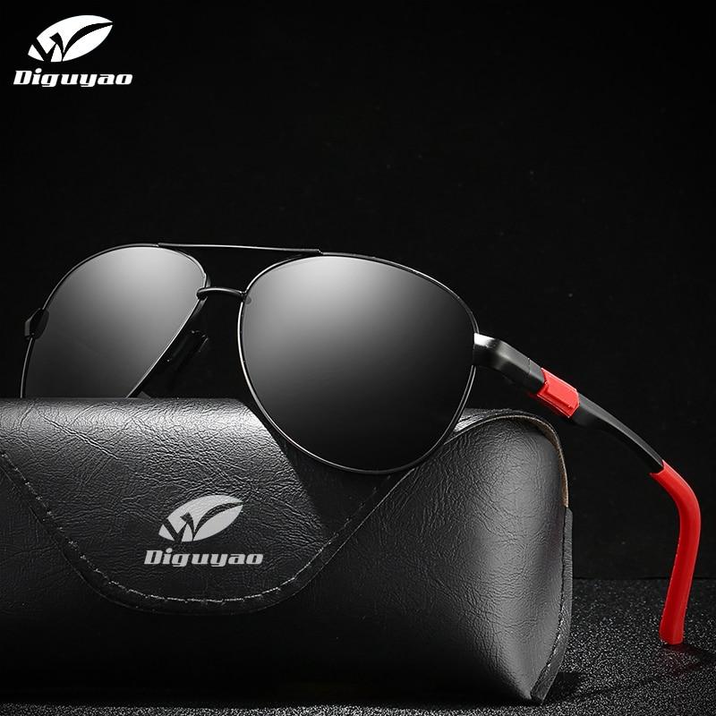 Gafas de sol para hombre 2020, montura de aluminio y magnesio, gafas...