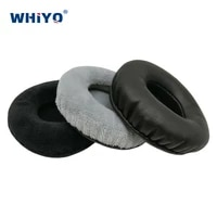 replacement ear pads for audio technica ath w100 w5000 w10vtg w1000x w1000 headset parts leather cushion velvet earmuff headset
