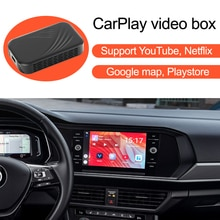 De la caja de vídeo para coches con Apple CarPlay para Mercedes Benz Audi VW Porsche Toyota Honda Hyundai Kia Ford Mazda Nissan Honda, Peugeot