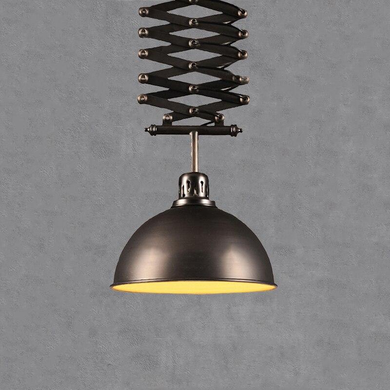 الرجعية لوفت قلادة حامل مصباح مكتب المطبخ دراسة غرفة الطعام العلوي نادي مقهى مطعم حانة الثريا قطرة ضوء مصباح