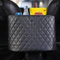 pu leather car seat storage organizer handbag holder auto interior stowing tidying multifunction car accessorie back bag pocket