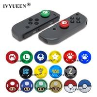 IVYUEEN 2 шт. для Nintendo Switch Lite Mini Joy-Con Joy Con Animal Cross джойстик для пальца, чехол-накладка, аналоговые стики