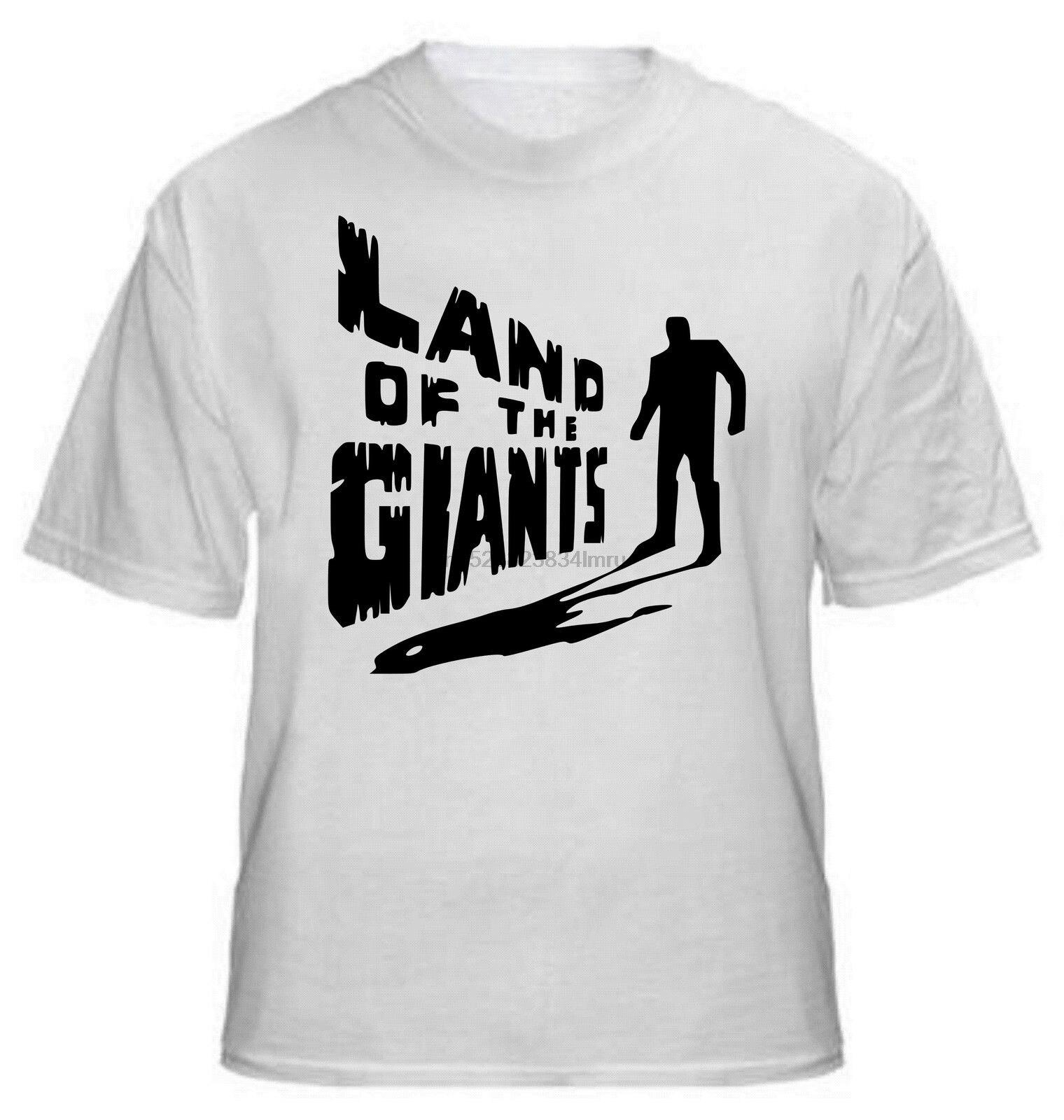 2019 gran oferta De Tierra De Gigantes Camiseta-culto ANOS 1960 Sci-Fi SERIE TVTodas Las sizes Camiseta (1)