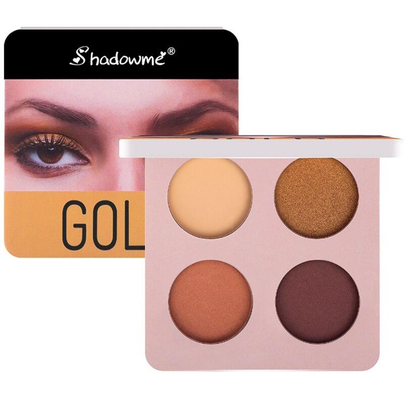 wine red eye shadow plate gloss matte eye shadow makeup long-lasting eye makeup plate 4 color