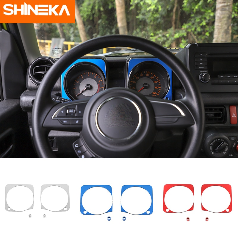 Shineka Interior Mouldings for Suzuki Jimny JB74 2019+ Car Dashboard Decoration Cover for Suzuki Jimny 2019+ Accessories