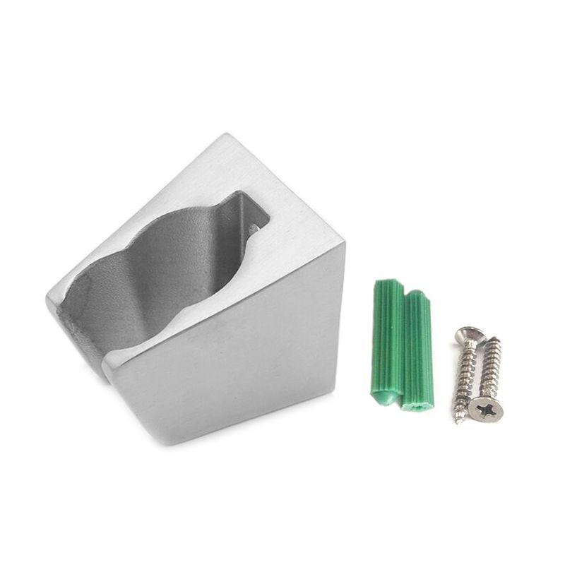 304 Stainless Steel Shower Seat Nozzle Bracket Bathroom Adjustable Holder Head Base Accessories G88B