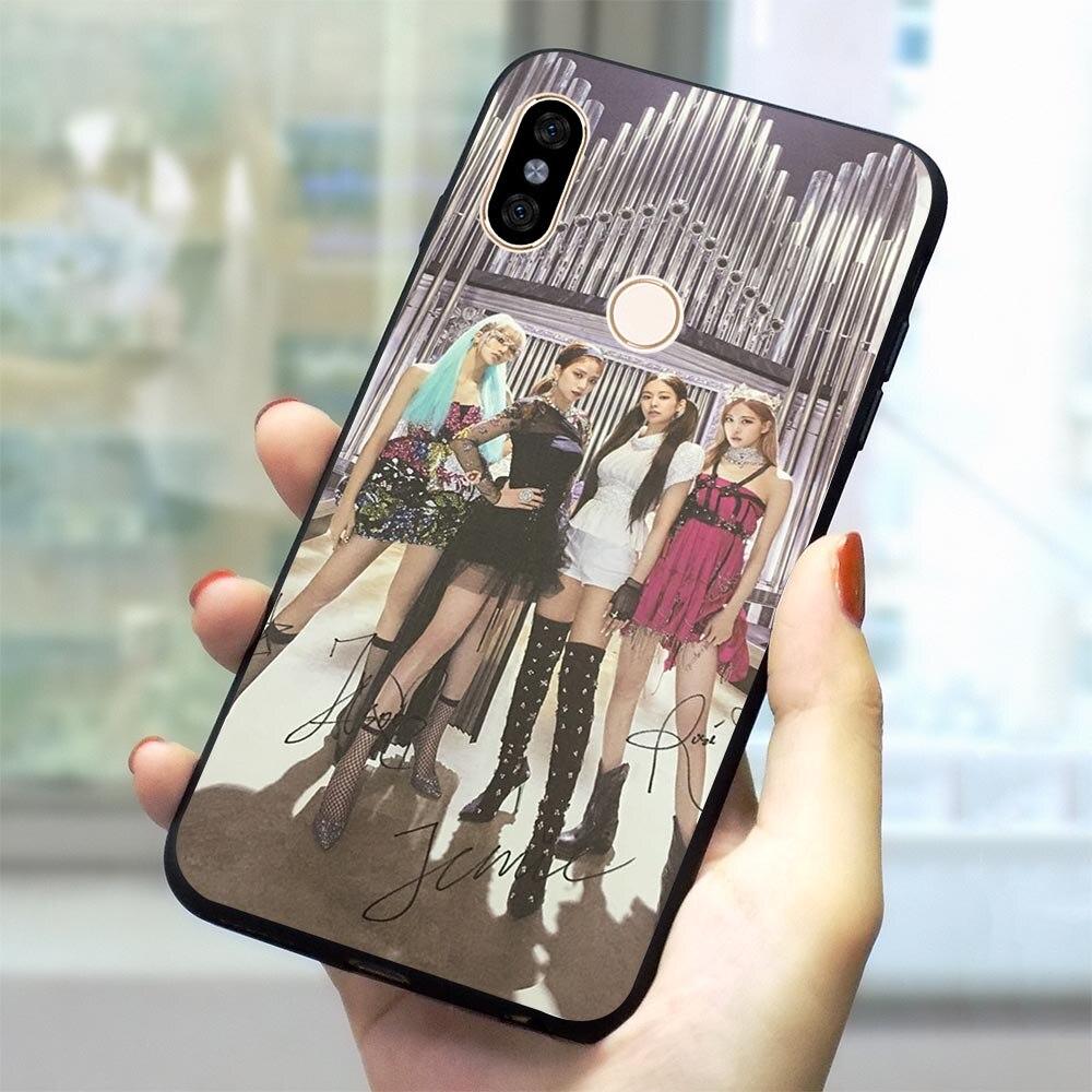 KPop Blackpink funda de teléfono para Xiaomi nota 5A primer cubierta Redmi 7A 7A K20 Pro Nota 5 5 5 6 6 7 Pro 4X 4A 5 5A 6 6A 6 PRO