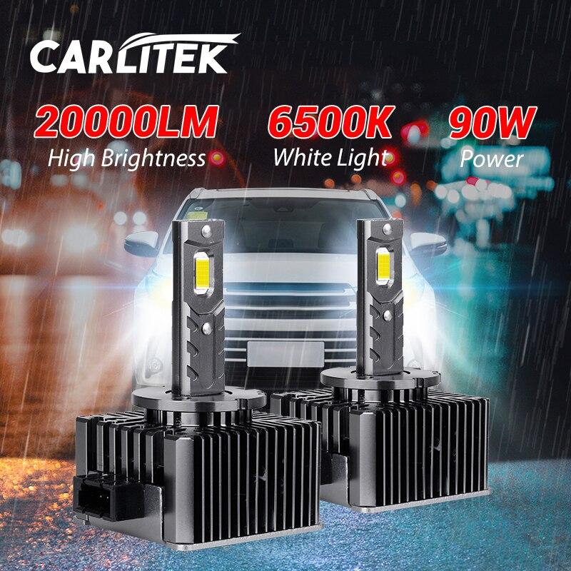 D2S LED المصابيح الأمامية 20000LM Canbus خطأ مجاني HID D1S D3S D4S D5S D8S 6500K CSP رقائق STG سيارة مصابيح كهربائية 1:1 حجم التوصيل والتشغيل