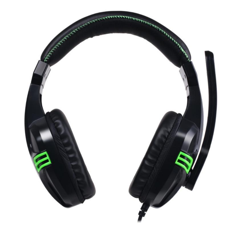 Fones de Ouvido para Gamer Usb com Fio de Redução Gamer Baixo Pesado Surround Estéreo Micro Ruído pc Portátil Jogo Fone