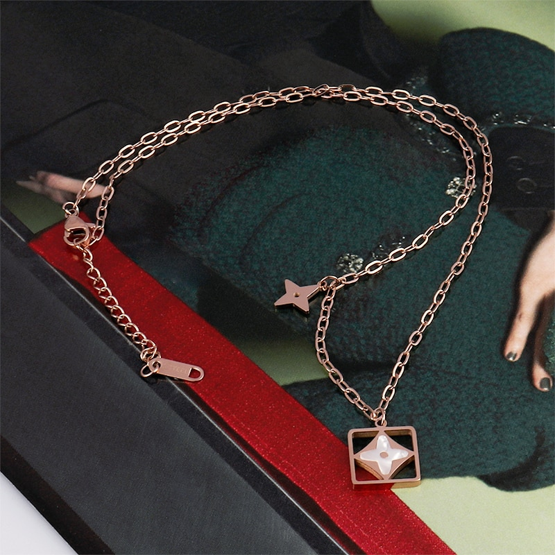 enfashion chinese zodiac ox necklace bull head stainless steel chain pendant womens necklaces jewelry ras de cou pfy183004 ox Necklace For Women Stainless Steel Fashion Pendant Necklaces Clavicle Necklaces Ladies New Womens Necklace Jewelry