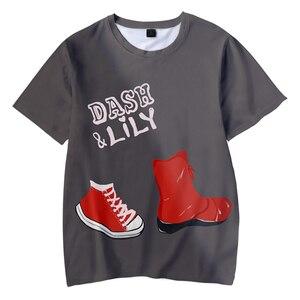 New Cool Dash & Lily Tshirt 3D O-Neck Women Men's Tshirt Summer Short Sleeve Streetwear American Tv Series Kid's Cute Tee