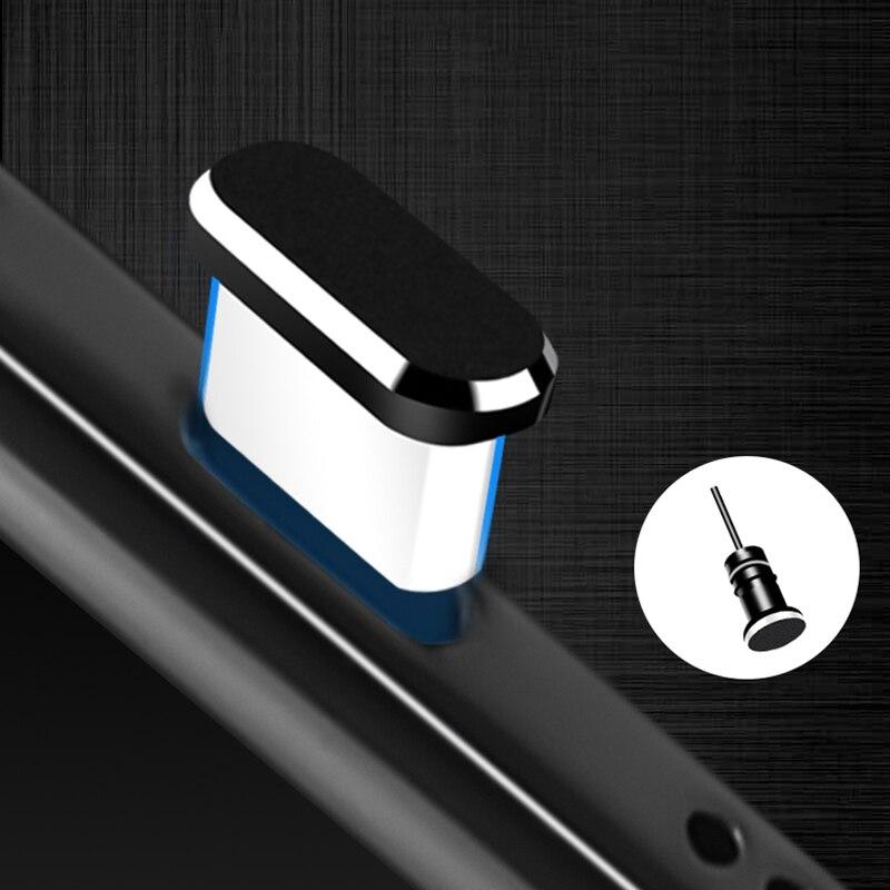 Тип C Пылезащитная заглушка для телефона Комплект USB портом Type-C и 3,5 мм разъем для наушников для Samsung Galaxy S8 S9 плюс для Huawei P10 P20 lite-1