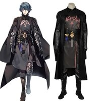 byleth cosplay halloween costumes for men adult fire emblem three houses male protagonist outfit male cape full set