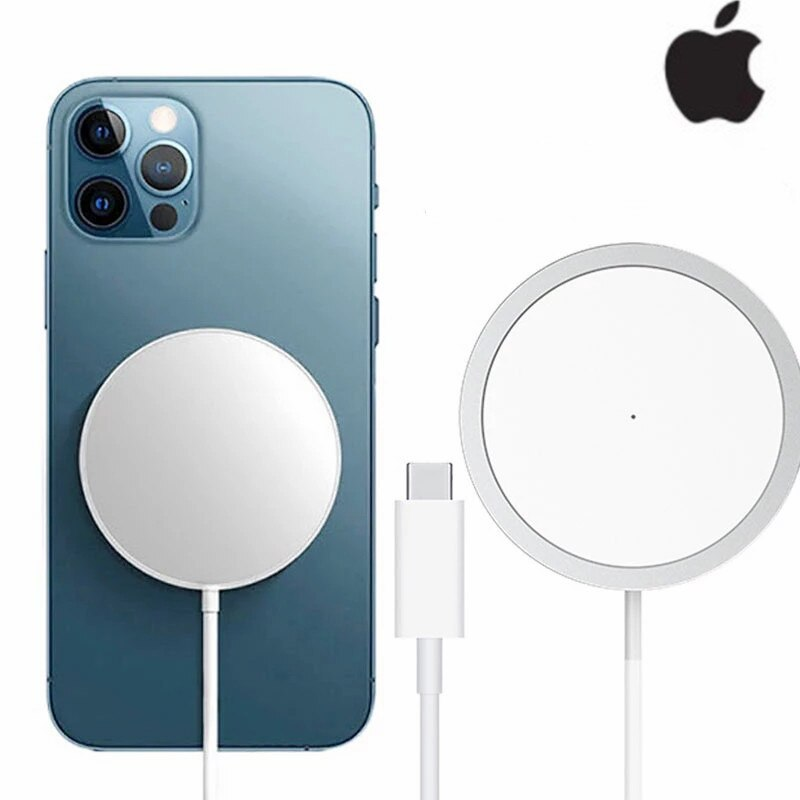 Apple MagSafe Wireless Charger For iPhone 12 Pro Max Fast Charging Adapter Plug Type C For iPhone 12 Mini Quick Charge Cable