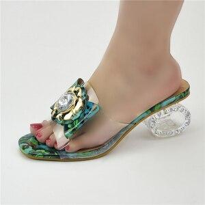 High heel new fashion Italian women's wedding shoes women's shoes Nigeria matching shoes high heel slippers women shoes