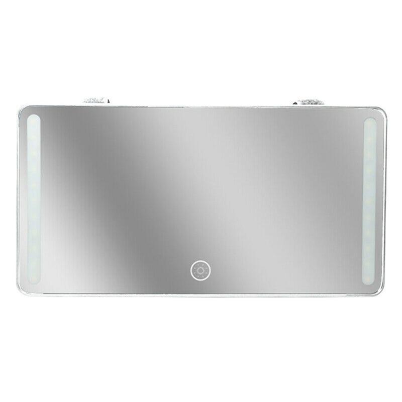 22 led luz de preenchimento carro suv interior viseira de sol vista traseira espelho de alta definição