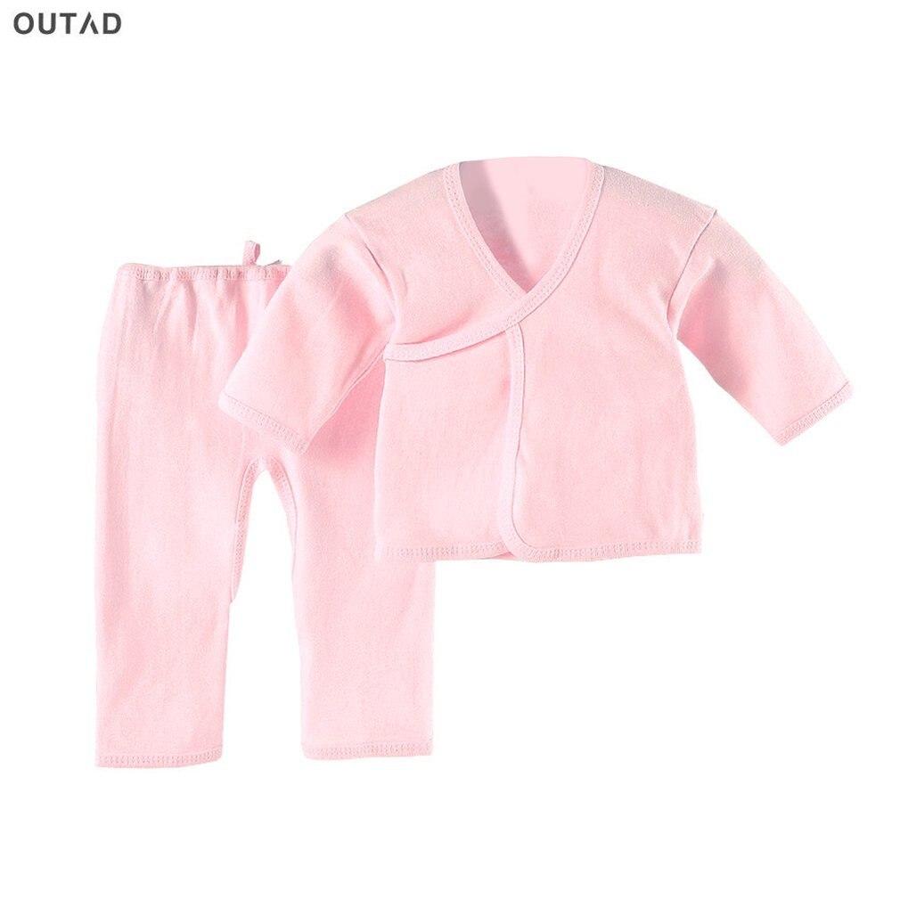 Популярная одежда для новорожденных модное хлопковое нижнее белье для младенцев костюмы для маленьких мальчиков и девочек, комплект одежды для 0-3 месяцев, детский халат топы для всех сезонов