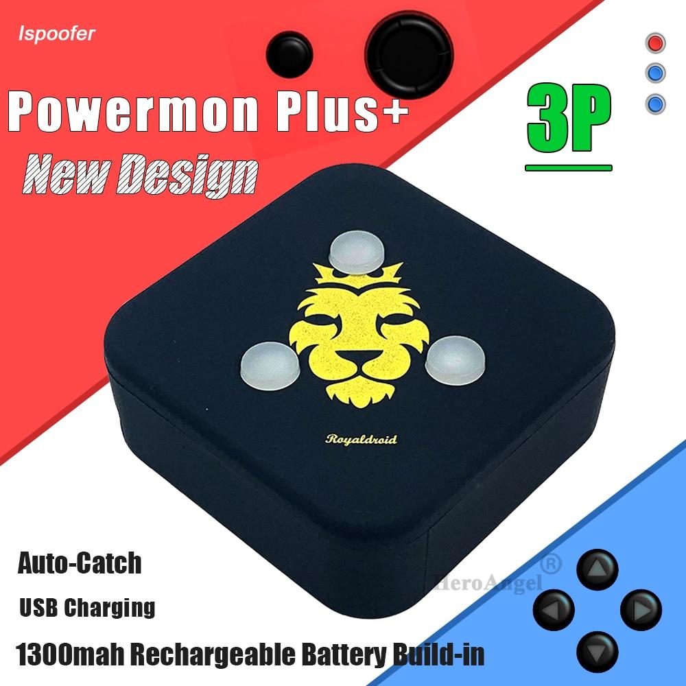2021 Newest Design USB Rechargeable Smart Bracelet For Powermon Plus + Game Bluetooth Wristband Auto Catch 3P Go Plus