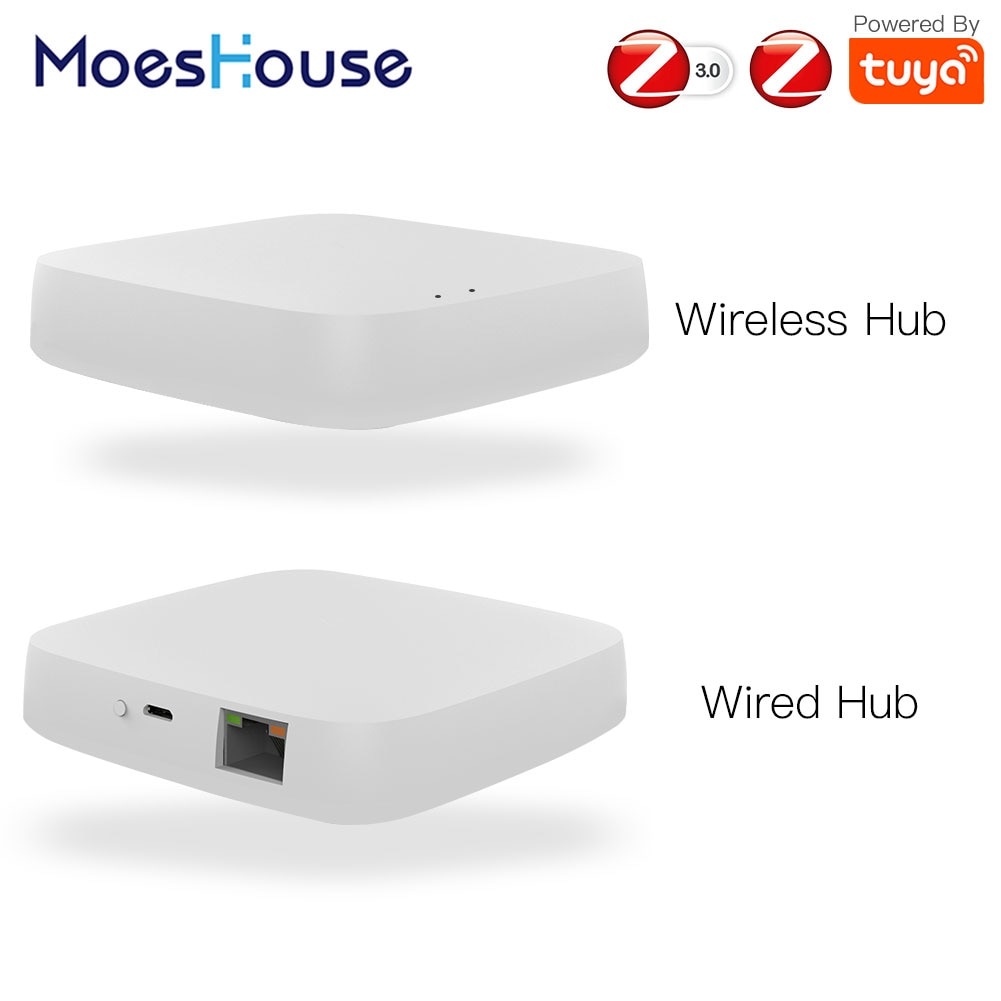 Tuya ZigBee-بوابة Smart Home Hub ، جهاز تحكم عن بعد لاسلكي ، متوافق مع Alexa و Google Home