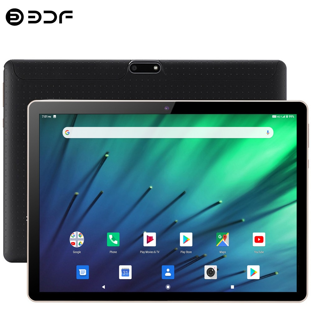 New Upgrade 10 Inch Tablet Pc SC9863A Octa Core Android 9.0 Google Market 3G 4G LTE Phone Call Dual SIM Dual Cameras 2.5D Screen