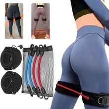 Set di fasce di resistenza Crossfit Set di elastici per allenamento di agilità della velocità cinetica fasce elastiche per esercizi per attrezzature per allenamento Fitness