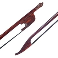 professional snakewood bow 16 size viola bow baroque style round stick aaa grade black horsehair fast response
