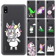 Hippo Unicorn Horse Soft TPU Case Cover For Xiaomi Mi 9 SE 9T 8 Pro 5X A1 6X A2 A3 Redmi K20 7 Y3 5 Plus Note 4 4X 5 6 7 8 Pro