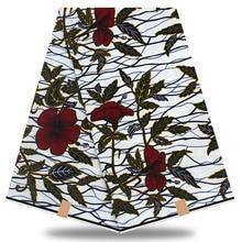 2020 New arrival 100% cotton Guaranteed african wax cloth Ghana wax Ankara Women 6yards/piece For Party Dress YH874