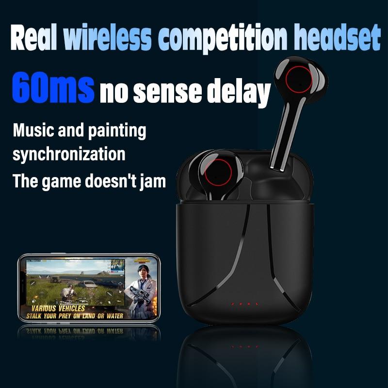 Ecoutems-auriculares tws con bluetooth, cascos con auriculares y micrófono
