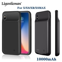 10000mAh Battery Charger Case For iPhone x xr xs max Battery Case Power Bank Charging Case Charger U