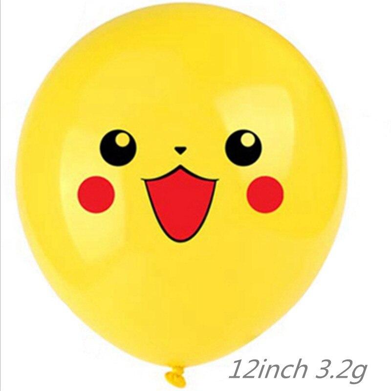 20pcs12inch dos desenhos animados do chá de fraldas crianças festa de aniversário decoração balão de látex de hélio